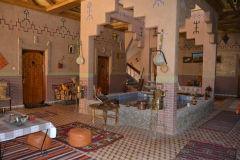Inside a hotel Dades Gorge near Boumalne, Morocco