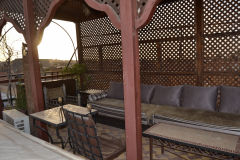 At the roof of a riad in Marrakech, Morocco