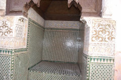 Interesting details inside the Medina in Marrakech, Morocco
