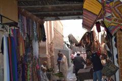 Markets inside the Medina in Marrakech, Morocco