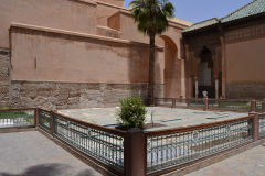 Inside the Saadian Tombs in Marrakech, Morocco