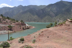 A lake between Marrakech and Taroudannt in Morocco