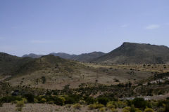 Landscape between Agadir and Sidi Ifni in Morocco