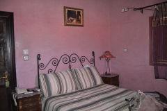 A hotel room in Tafraoute, Morocco