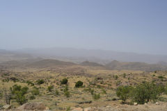 Landscape around Tafraoute, Morocco