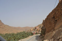 An oasis east of Tafraoute in the Anti Atlas, Morocco