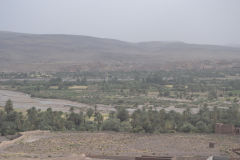 Ouarzazate in the Draa Valley in Morocco