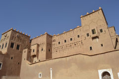 Inside Kasbah Taourit in Ouarzazate, Morocco