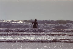 Waves at Legzira Beach, Morocco