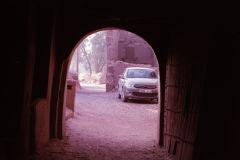 Inside a old city at the Wadi Draa near Mhamid, Morocco