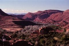 Mountain landscape near Boumalne, Morocco