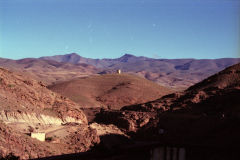 A tower in the Atlas Mountains, Morocco