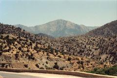 Landscape between Marrakesh and Taroudannt, Morocco