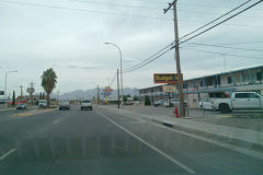 Street scene in Las Cruces, New Mexico, USA