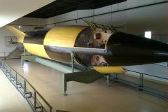 V2 rocket at the White Sands Missile Range, New Mexico, USA