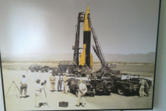 Picture of a V2 testing at the White Sands Missile Range, New Mexico, USA
