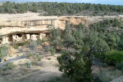Acient buidlings in Mesa Verde National Park, Colorado, USA