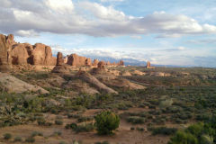 Landscape in Arches National Park, Utah, USA