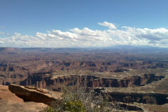 Landscape at the Canyonlands National Park, Utah, USA