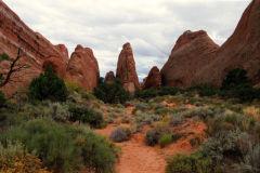 Landscape in Arches National Park, Utah, USA