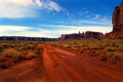 Landscape at Monument Valley National Park, Arizona, USA
