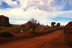 Landscape at Monument Valley National Park, Arizona, USA