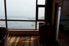 Nice hotel suite at the beach in Dalian, China
