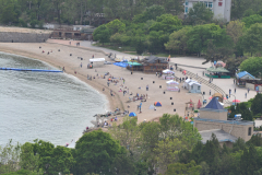 A beach in Dalian, China