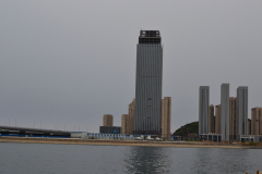 New high-rise buildings in Dalian, China