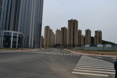 New buidlings in Dalian, China