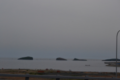 Some islands at the coast of Dalian, China