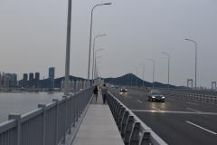 Vie of the bridge in Dalian, China