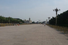 The Tiananmen Square in Beijing, China