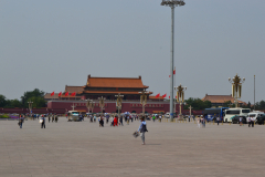 The Tiananmen at the Tiananmen Square in Beijing, China