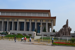 The Chairman Mao Memorial Hall at the Tiananmen Square in Beijing, China