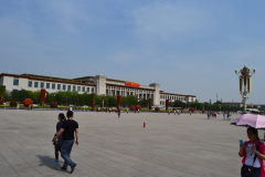 The National Museum of China at the Tiananmen Square in Beijing, China