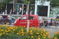 A street scene in Beijing, China