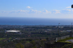 Mediterranean Sea near Taormina, Sicily, Italy