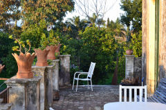 Sunny day around our house at new years eve 2016  in Sicily, Italy