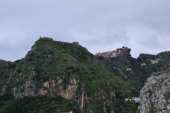 Mountains around Taormina, Sicily, Italy