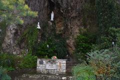 A holy place near Taormina, Sicily, Italy