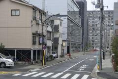 A street scene in Tokyo, Japan