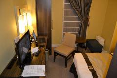 A hotel room in Tokyo, Japan