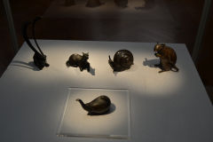 Animal figures inside the Tokyo Museum, Tokyo, Japan