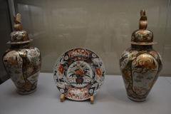 Ceramics inside the Tokyo Museum, Tokyo, Japan