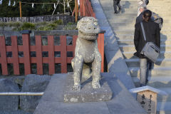 Figure at a temple in Kamakura, Japan