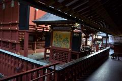 Inside a temple in Kamakura, Japan