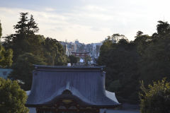 View from a temple in Kamakura, Japan