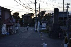 Street scene in Kamakura, Japan