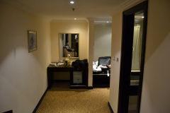 A cheap hotel room in Dubai, United Arab Emirates